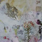 Lilium by Philippa Sibert, Painting, Mixed Media