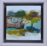 mini landscape by Philippa Sibert, Painting, Mixed Media